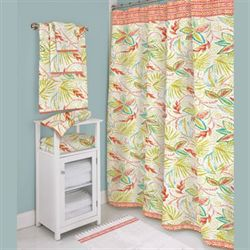 Tropical Palm Shower Curtain Multi Jewel 72 x 72