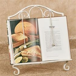 Gordon Kitchen Cookbook Stand Antique Ivory