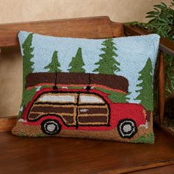 Woody Car Decorative Pillow Multi Bright 14 x 18