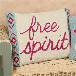 Free Spirit Rectangle Decorative Pillow Multi Cool 14 x 18