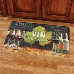Vin de Table Comfort Mat Black 30 x 18