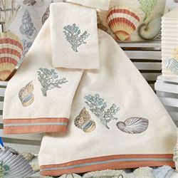 Sea Breeze Bath Towel Set Pearl Bath Hand Fingertip