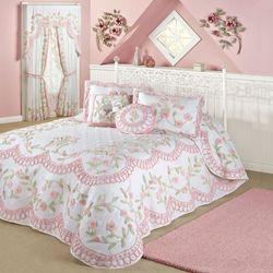 Cottage Charm Grande Bedspread White