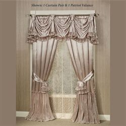 Marquis Tailored Curtain Pair Champagne 84 x 84