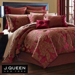 Shiraz Comforter Set Claret