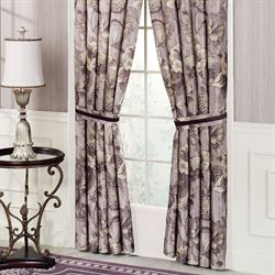 Floral Nouveau Tailored Curtain Pair