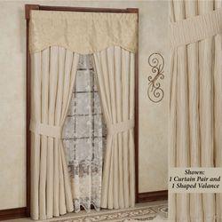 Sonoma Wide Tailored Curtain Pair Light Cream 100 x 84