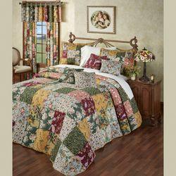 Antique Chic Bedspread Set Multi Warm