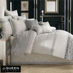 Sienna Comforter Set Silver