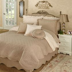 Everafter Quilt Set Almond