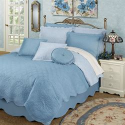 Everafter Quilt Set Dusty Blue