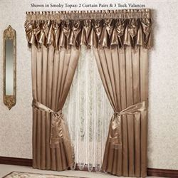 victorian window treatments victorian style portia ii tuck valance window treatments victorian accents touch of class