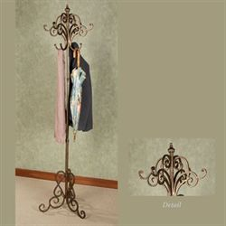 Meyda Scrolling Coat Rack