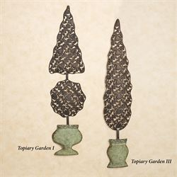 Topiary Garden I Wall Sculpture Bronze