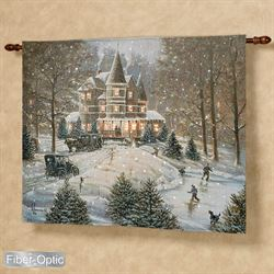 Horseless Carriage Lighted Wall Tapestry Multi Earth