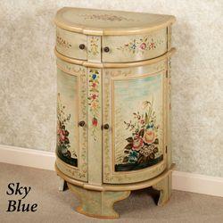 Miranda Floral CabinetSky Blue
