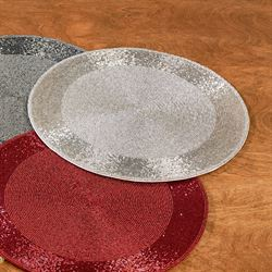 Beaded Placemats Set of Two