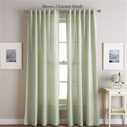 Ayla Semi Sheer Curtain Panel
