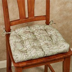 Kaili Chair Cushions Beige Set of Two