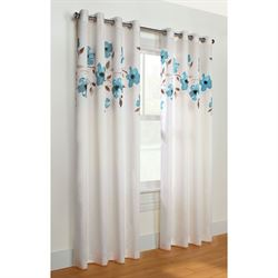 Botanic Bliss Grommet Curtain Panel
