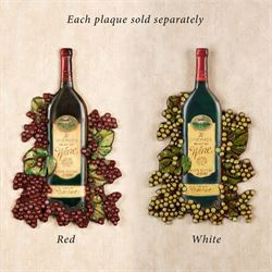 Wine Bottle Wall Plaque