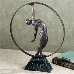 Strength Expo Table Sculpture Bronze