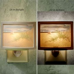 Balmy Beach Nightlight Light Cream
