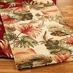 Palm Leaf Area Rug