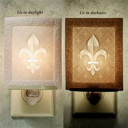 Fleur de Lis Nightlight Light Cream