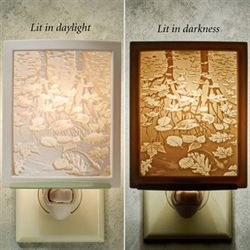 Still Reflection Nightlight Light Cream