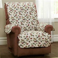 Alfie Furniture Protector Light Cream Recliner/Wing Chair