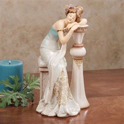 Elegant Dreams Figurine Blue