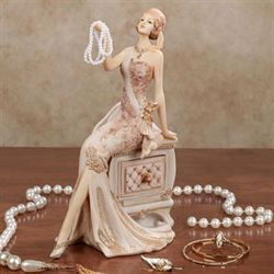 Graceful Beauty Lady Figurine Ivory