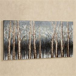 Aspen Grove Canvas Wall Art Multi Earth
