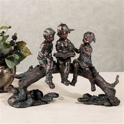 Summer Stories Figurine Verdi Bronze