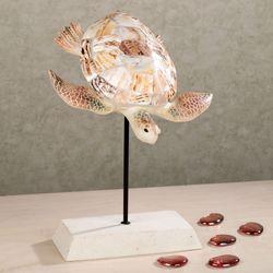 Turtle Bay Sculpture Multi Earth