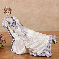 Peaceful Moment Figurine Purple
