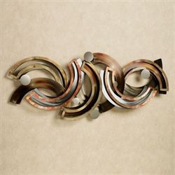 Rejoice Metal Wall Sculpture Multi Metallic