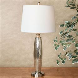 Aimee Table Lamp Brushed Steel