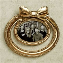 Irtiza Oval Photo Frame Gold
