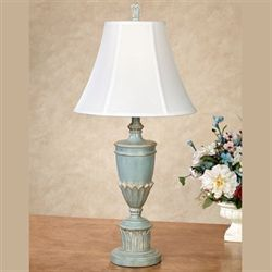 Aileen Table Lamp Aqua Mist