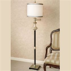 Alesksy Floor Lamp Antique Ivory