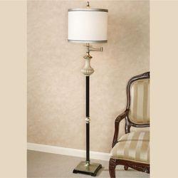 Alesksy Floor Lamp Antique Ivory