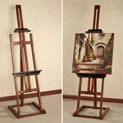 Artisana Display Easel Antique Walnut