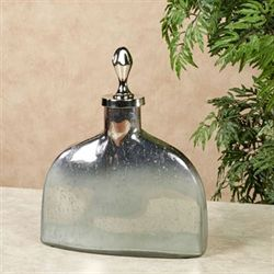 Electra Decorative Covered Jar Gray