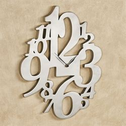 Gallimaufry Wall Clock Nickel
