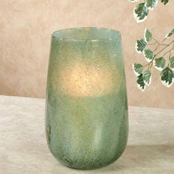 Branwen Hurricane Vase Aqua