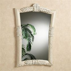 Baileys Bay Wall Mirror Whitewash