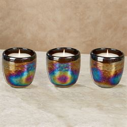 Toril Hurricane Candleholders Multi Jewel