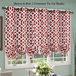 Trellis Grommet Tie Up Shade 40 x 63